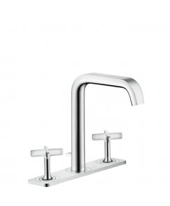 Citterio E 3-Hole Basin Mixer 170 with Plate