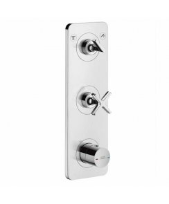 Citterio E Thermostatic Module Finish Set with Plate