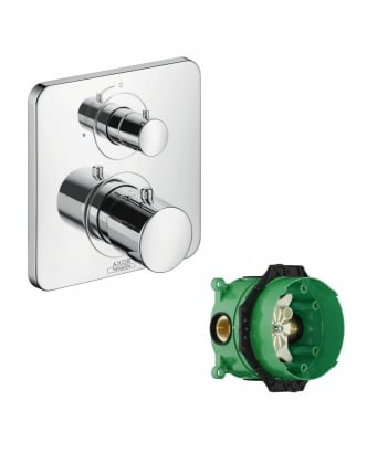 Axor Citterio M Concealed Thermostatic Mixer With Shut-Off valve and iBox