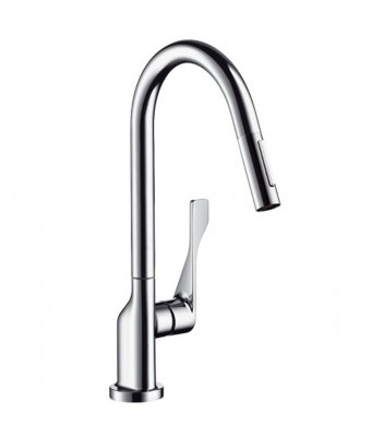 Axor Citterio Single Lever Kitchen Mixer with Pull-Out Spray