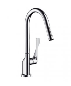Citterio Single Lever Kitchen Mixer with Pull-Out Spray