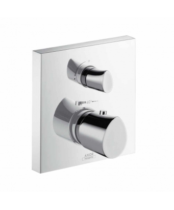 Axor Starck Organic Concealed Thermostatic Mixer with Shut-off Valve