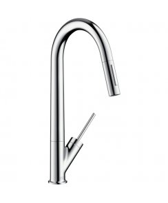Starck Single Lever Kitchen Mixer with Pull-Out Spray