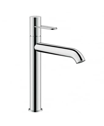 Axor Uno Single Lever Basin Mixer 190 - Loop Handle