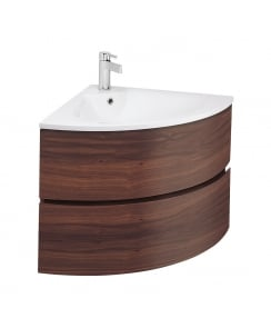 Svelte Corner Furniture Washbasin and Unit