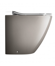 Svelte Platinum Back to Wall Toilet