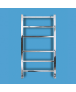 Bisque Gio Towel Rail Radiator