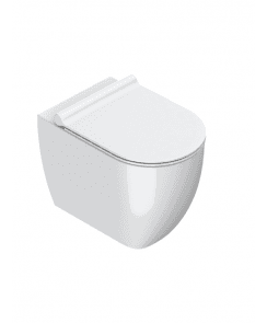 Sfera 54 Rimless NewFlush Back to Wall Toilet