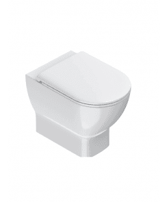 Sfera 54 Rimless NewFlush ECO Back to Wall Toilet