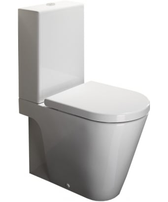 Catalano Zero 62 Close Coupled Toilet - WRAP AROUND CISTERN