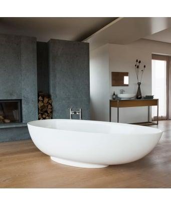 Clearwater Teardrop Grande Freestanding Bathtub