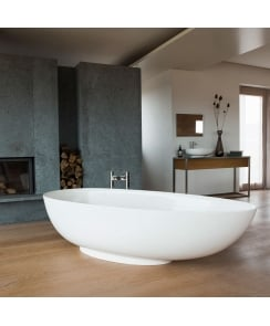 Teardrop Grande Freestanding Bathtub