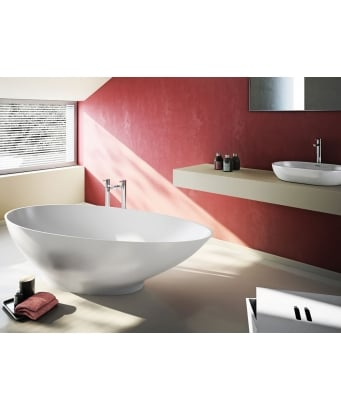 Clearwater Teardrop Petite Freestanding Bathtub