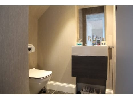 bathroomOne London Project - Cloakroom Bathroom