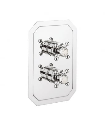 Crosswater Belgravia Crosshead Thermostatic Shower Valve with 2 Way Diverter