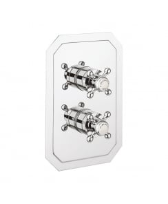 Belgravia Crosshead Thermostatic Shower Valve with 2 Way Diverter