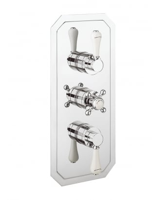 Crosswater Belgravia Lever Thermostatic Shower Valve for 2 Outlets
