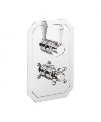 Crosswater Belgravia Lever Thermostatic Shower Valve with 2 Way Diverter