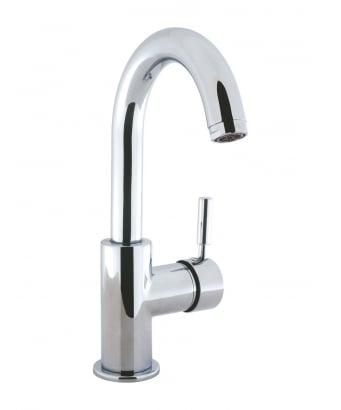Crosswater Design Monobloc Side Lever Basin Mixer