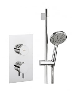 Dial Valve 1 Control Shower Set with Kai Lever Trim