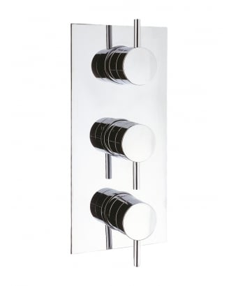 Crosswater Kai Lever Thermostatic Shower Valve for 2 Outlets