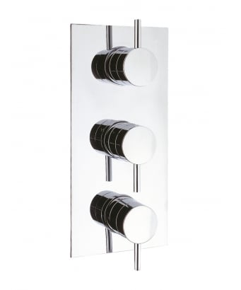 Crosswater Kai Lever Thermostatic Shower Valve for 3 Outlets