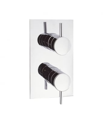 Crosswater Kai Lever Thermostatic Shower Valve with 2 Way Diverter
