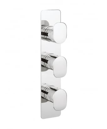 Crosswater KH ZERO 2 Thermostatic Shower Valve for 2 Outlets