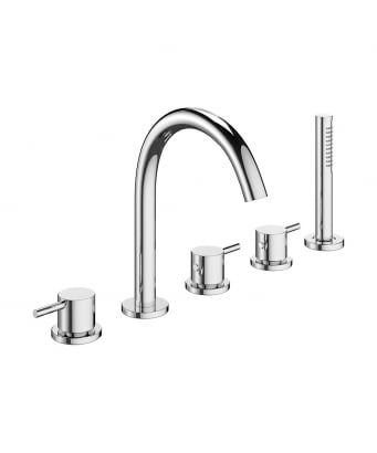 Crosswater Mike Pro 5-Piece Bath Shower Mixer Set