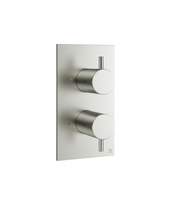 Crosswater MPRO Double Outlet Thermostatic Shower Valve