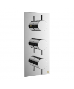 MPRO Double Outlet Thermostatic Shower Valve