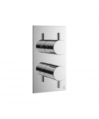 Crosswater MPRO Single Outlet Thermostatic Shower Valve