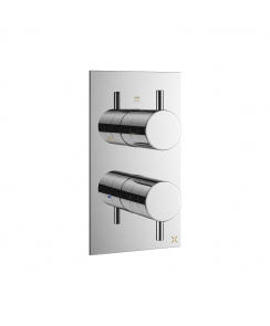 MPRO Triple Outlet Thermostatic Bath Shower Valve