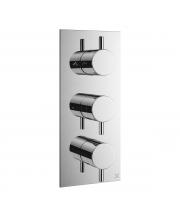 MPRO Triple Outlet Thermostatic Bath Shower Valve