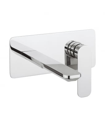 Crosswater Pier 2-Hole Wall Mounted Basin Mixer