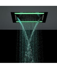 Rio Revive Showerhead with Lights and Double Waterfall Feature