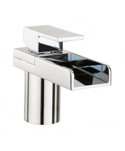 Water Square Monobloc Basin Mixer