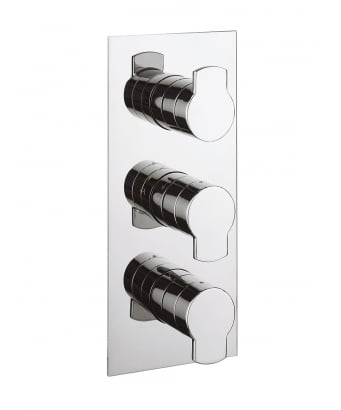 Crosswater Wisp Thermostatic Shower Valve for 3 Outlets