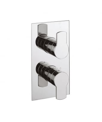 Crosswater Wisp Thermostatic Shower Valve with 2 Way Diverter