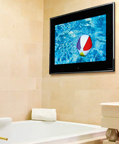 Bathroom TV's