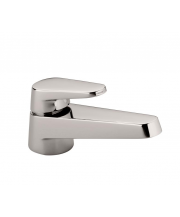 Selv Single Lever Basin Mixer and Waste - Platinum Matt