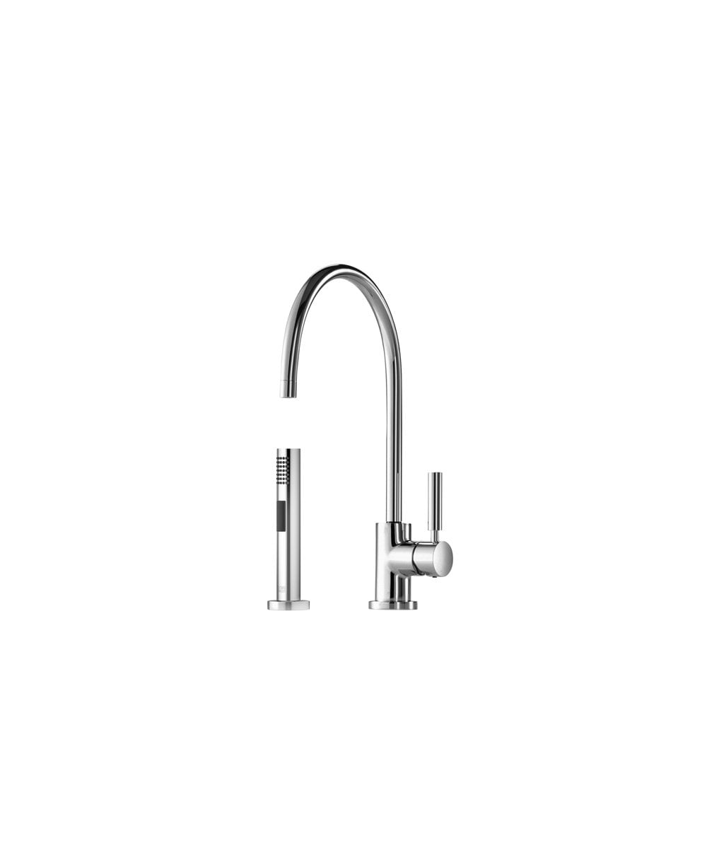 Groovy Dornbracht Tara Classic Single Lever Kitchen Sink Mixer With Rinsing Spray Set Home Interior And Landscaping Ponolsignezvosmurscom