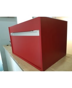 Duravit Ketho Wall Mounted 1 Drawer Vanity Unit - Matt Red