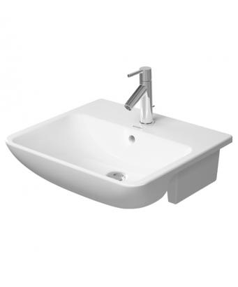 Duravit ME By Starck Semi-Recessed Washbasin