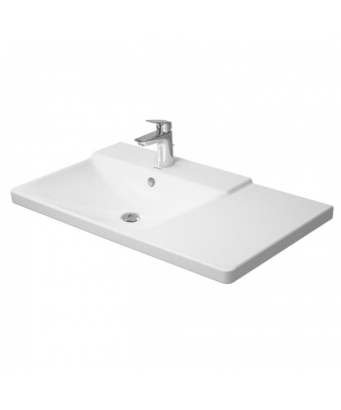 Duravit P3 Comforts Asymmetric Furniture Washbasin
