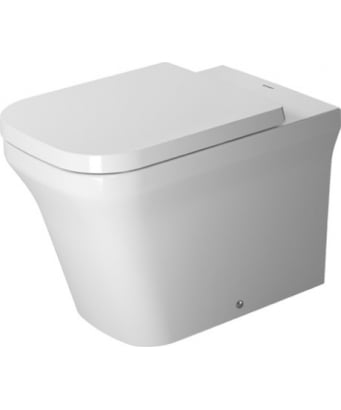 Duravit P3 Comforts Rimless Back to Wall Toilet