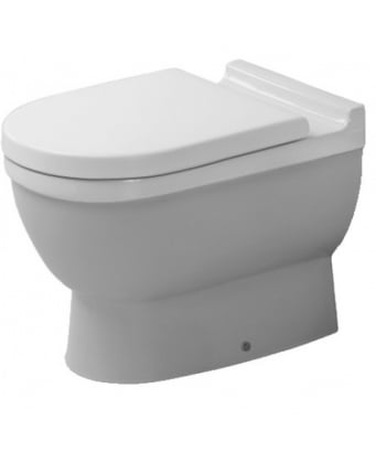 Duravit Starck 3 Back to Wall Toilet