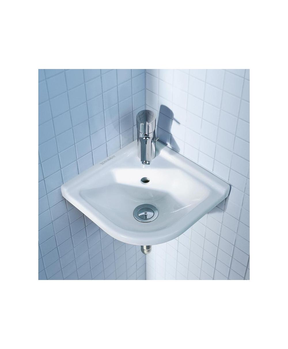 Starck 3 Cloakroom Corner Washbasin