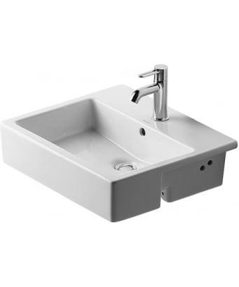 Duravit Vero Semi-Recessed Washbasin