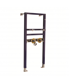 Duofix Frame for Washbasin H112, for Deck-Mounted Tap